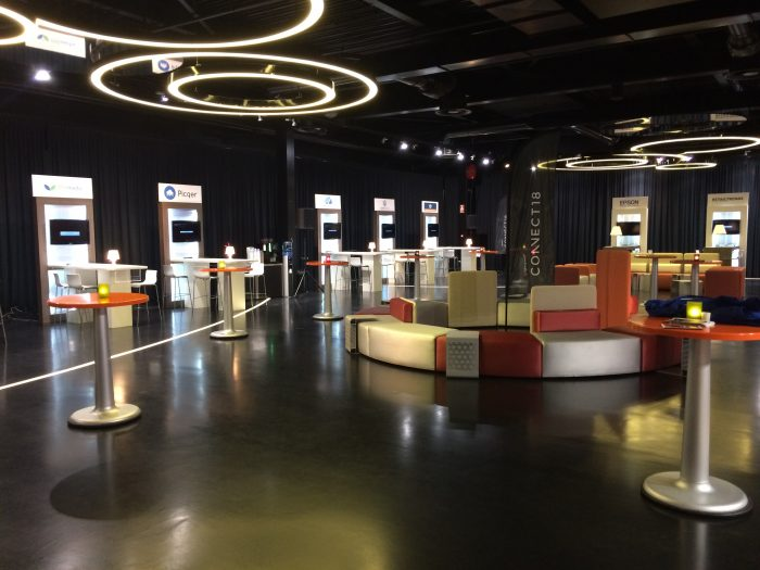 Trade stands in the Transit Zone, Jaarbeurs